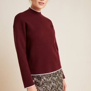 Anthropologie Lizzie mock neck sweater NWT Small